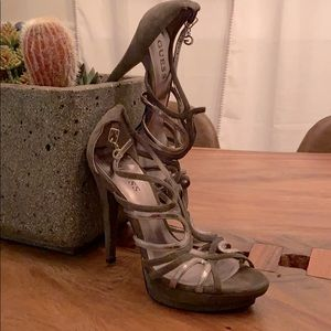 Guess Women's strapped pumps